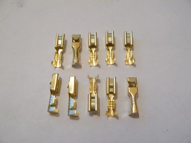 3mm female spade crimp connector. Black Bedroom Furniture Sets. Home Design Ideas