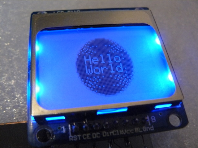 LCD Display Module with Easy Arduino Library